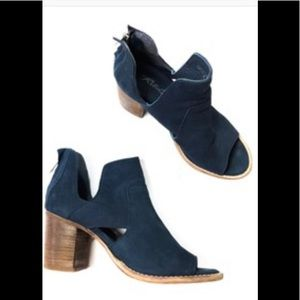 Rebels: cut out ankle bearing Ramzi suede shoes